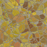 Broken mosaic Stock Image