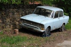 Broken Moskvich Car Royalty Free Stock Image