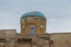 Broken mosque dome Stock Photos