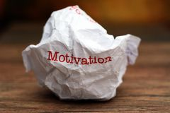 Broken motivation Stock Images