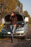broken motor Royaltyfria Bilder
