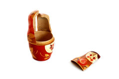 Broken nesting doll Royalty Free Stock Photography