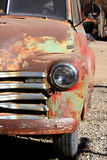Broken. An old car waiting to be repaired by its owners standing in the streets of Trinidad Cuba Stock Photos