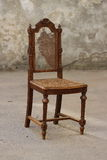 Broken old chair. Stock Image