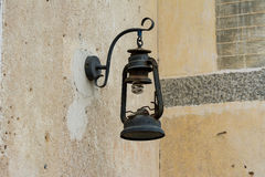 A broken old lamp Royalty Free Stock Images