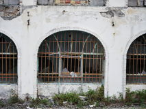 Broken, old and run down building in Iran Royalty Free Stock Photos