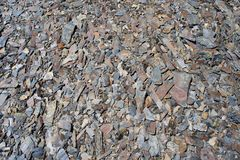 Broken old stones.  Background. Royalty Free Stock Images