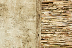 Broken Old Stucco Wall Royalty Free Stock Images