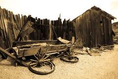 Broken Old Wagon Stock Photos