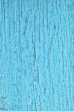 Broken paint on blue wall Royalty Free Stock Photography