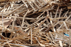 Broken pallets Royalty Free Stock Photo
