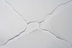 Broken paper Royalty Free Stock Photo