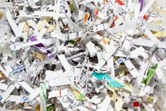Broken paper texture Stock Photo