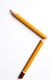 Broken pencil Royalty Free Stock Photo