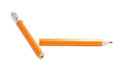 Broken pencil Royalty Free Stock Images