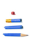 Broken Pencil Royalty Free Stock Images