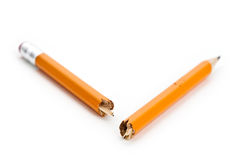 Broken Pencil Stock Photography