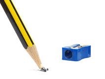Broken pencil tip Stock Image