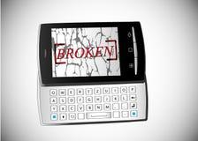 Broken phone Stock Images