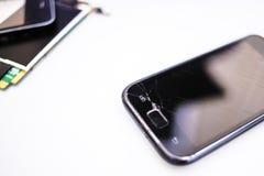 Broken phone Royalty Free Stock Image