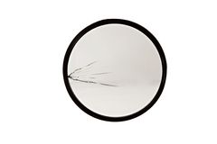 Broken photo filter. Isolated on the white background Royalty Free Stock Photos