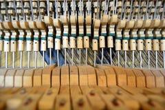 broken piano Royaltyfri Foto