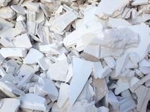 Broken plaster Royalty Free Stock Photography