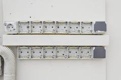 Broken plugs Royalty Free Stock Image
