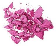 Broken purple eye shadow Royalty Free Stock Photo