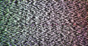 Broken reception tv interference noise static insert element.