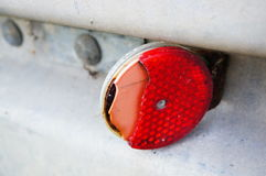 Broken reflector Royalty Free Stock Image