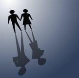 Broken relationsip, divorce concepts Stock Photos