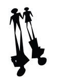Broken relationsip, divorce concepts Royalty Free Stock Photo