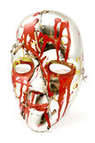 Broken and repaired carnival mask Royalty Free Stock Photography
