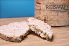 Broken rice cake Royalty Free Stock Images