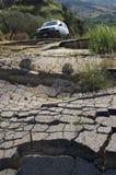 Broken Road stock photos