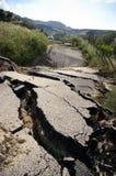 Broken Road stock image