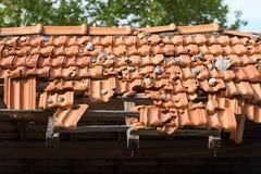 Broken Roof Stock Photography