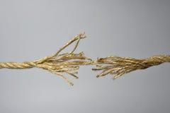 Broken rope Royalty Free Stock Photo