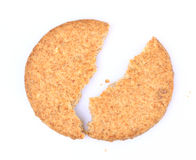 Broken Scottish oatcake Royalty Free Stock Photo