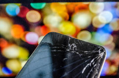 Broken Screen Stock Image