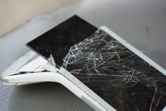 broken screen mobile phone Royalty Free Stock Images