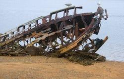 Broken ship Stock Photography