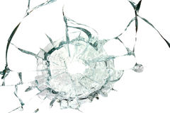 Broken silicate glass  background Royalty Free Stock Photo