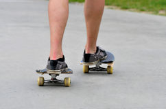 Broken skateboard Royalty Free Stock Photography