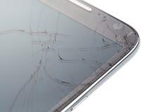 Broken smart phone Royalty Free Stock Image