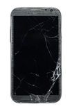 Broken smart phone Stock Image