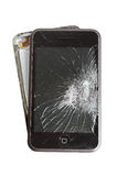 Broken smartphone Stock Photography
