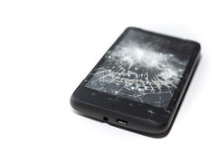 Broken Cellphone Stock Photography