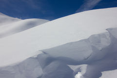 Broken Snow Stock Photography